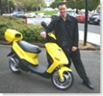 Hybrid scooter. Image from the University of Tasmania.